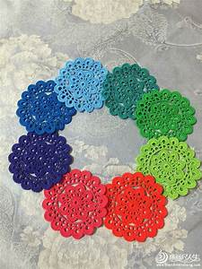 Beautiful Circle Crochet Motif  U22c6 Crochet Kingdom