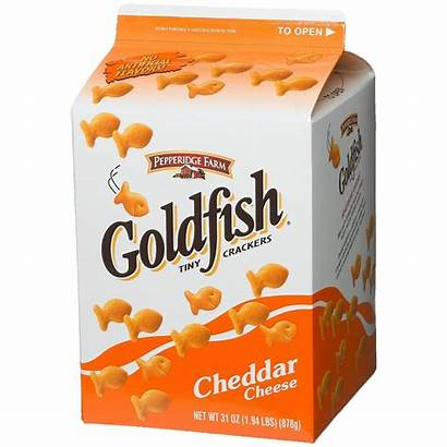 Goldfish Crackers Snack Snacks Cheese Pack Clipart