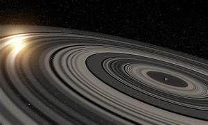 Huge distant planet has rings 200 times larger than Saturn ...