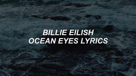 Ocean Eyes // Billie Eilish Lyrics Chords