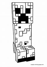 Minecraft Coloring Pages Printable Creeper Mine Craft Servers Skins Creepers Enderman Colouring Adults Printables Drawings Mutant Furious Destroyer Mobs Children sketch template