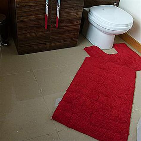 red bath mat set buy azaani gray with oval red teal