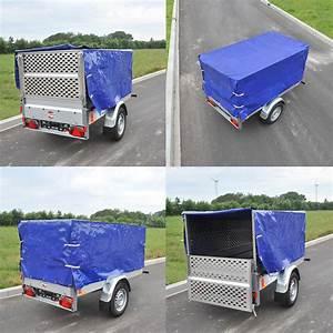 Hochplane Für Anhänger : pkw anh nger hochplane blau mit gummigurt 2090x1140x880 mm neu ovp ebay ~ Orissabook.com Haus und Dekorationen