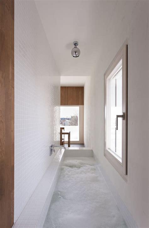 narrow bathroom ideas uk tackling narrow bathroom layouts livinghouse