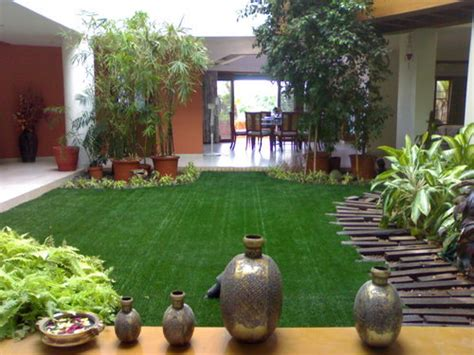 Home Garden Design Ideas India by Artificial Grass For Landscaping In Begumpet Hyderabad