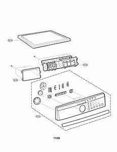 Control Panel And Plate Parts Diagram  U0026 Parts List For