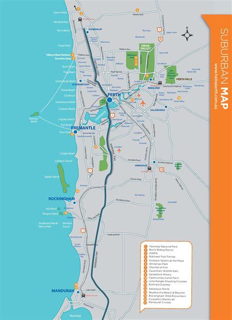 perth suburbs map