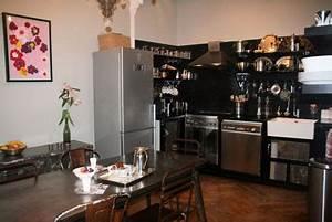 Cuisine Deco Industrielle : un appartement au charme industriel notre loft ~ Carolinahurricanesstore.com Idées de Décoration