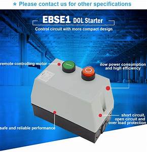 Iso9001 Certified Ebse1 Dol Magnetic Starter