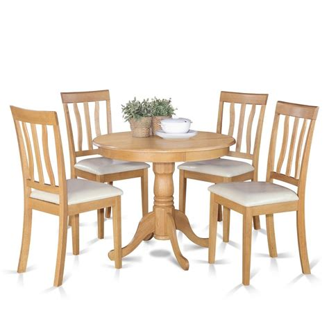 furniture kitchen sets oak small kitchen table and 4 chairs dining set ebay