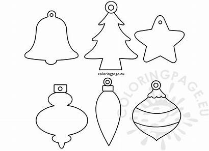 Shapes Ornament Printable Coloring