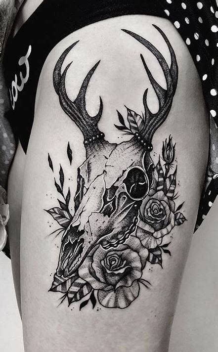 deer skull tattoos ideas designs meaning tattoo