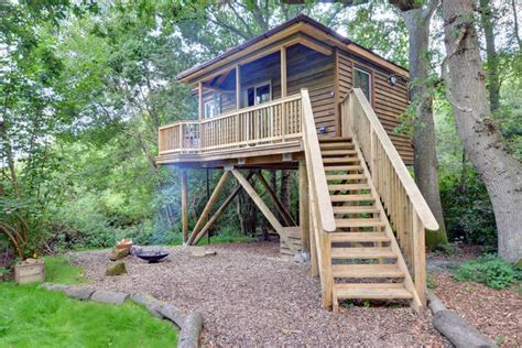 Tinkers Treehouse  East Sussex (bordering Kent) Canopy
