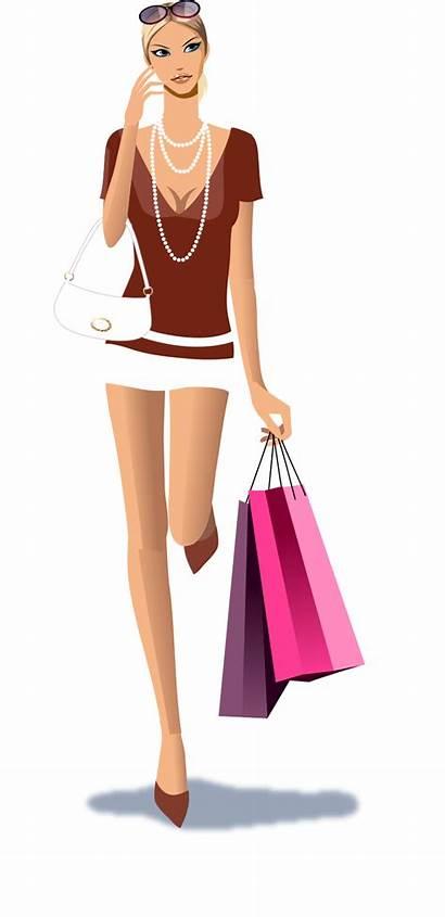 Shopping Vector Illustration Icon Thinking Designer
