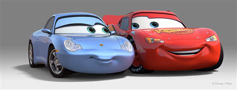 cars sally and lightning mcqueen jeff raymond portfolio sally mcqueen personality pose