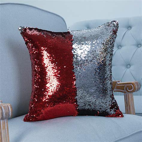 reversible sequin mermaid pillow reversible sequin mermaid pillowcase magical color 4840