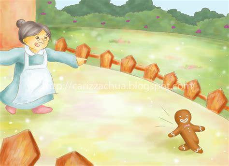 gingerbread man  classic story  children carizza chua