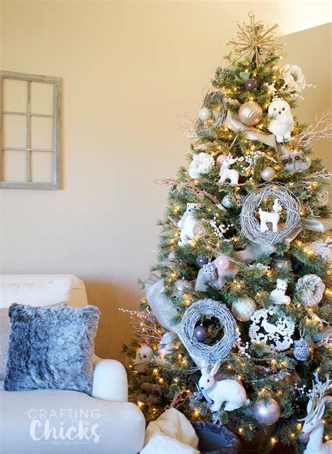 winter wonderland christmas tree the crafting chicks