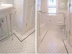 Retro Tile Bathroom by Redoubtable Vintage Bathroom Ideas