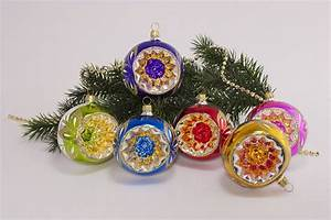 Weihnachtskugeln Aus Lauscha : 6 bunte reflexkugeln 8 cm im sparset christbaumkugeln ~ Orissabook.com Haus und Dekorationen