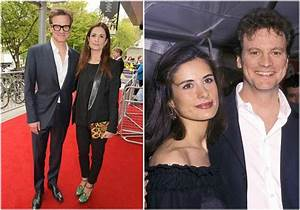 The King's Speech star actor Colin Firth and his lovely family