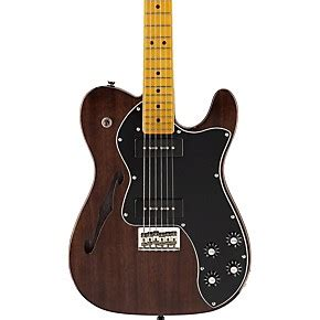 fender modern player telecaster thinline deluxe electric guitar musician s friend