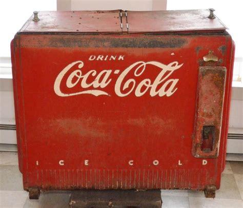 1940 electric coca cola cooler chest