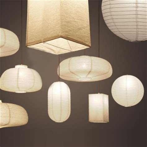 exclusive paper mini pendant light in white by designer