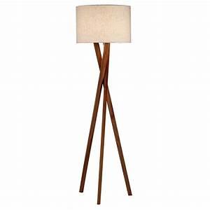 Target floor lamp living room beach style with wood for Target lantern floor lamp