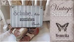 Shabby Style Onlineshop : schilder im shabby chic und vintage style wesnuschka shop youtube ~ Frokenaadalensverden.com Haus und Dekorationen