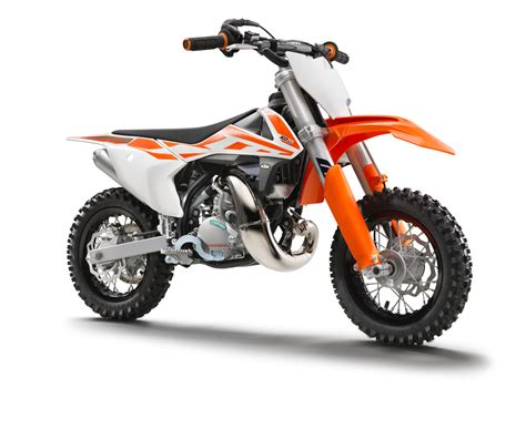 Ktm Motorcycles' Off Road Dirt Bike Family Explained