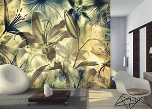 Moderne Poster Fürs Wohnzimmer : foto tapeten blumen g nstig aus sterreich kaufen wandgestaltung ~ Bigdaddyawards.com Haus und Dekorationen