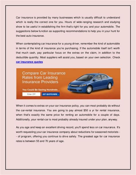 Best Car Insurance Rates - carinsurancerates find the best car insurance without hassles