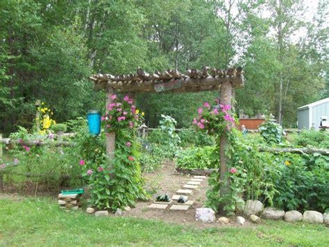 rustic garden ideas images  pinterest garden