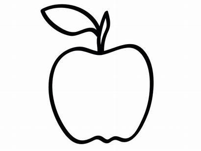 Apple Coloring Pages Printable Getcolorings Medium Getdrawings