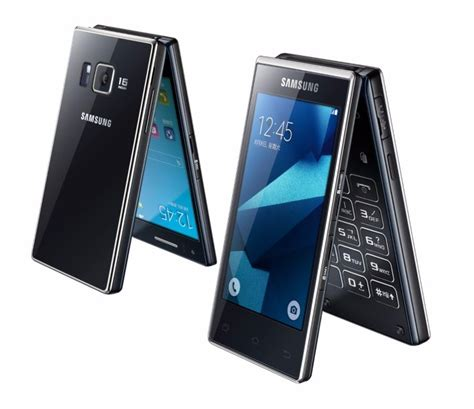 new flip phones new samsung phone revives the clamshell design
