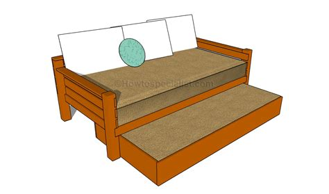 build a bed pdf diy trundle bed frame plans treehouse