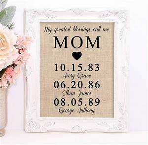 Personalized Gift for MOM Mother's Day Gift Gift for