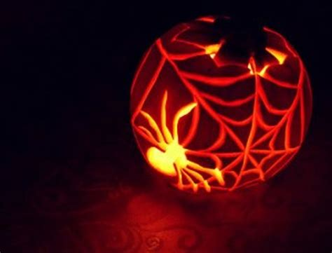 spider o lantern pattern best creative pumpkin carvings design in this halloween 2017 9 decomg