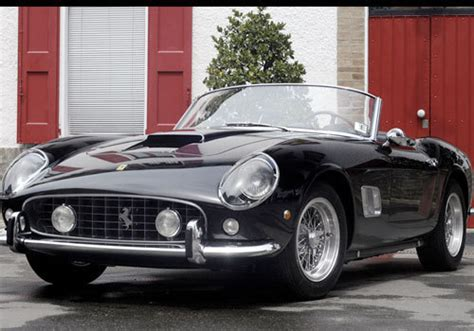 But can an suv be a real ferrari? Vintage Ferrari Spyder Sold For Highest Price Ever At Car Auction (PHOTOS) | HuffPost