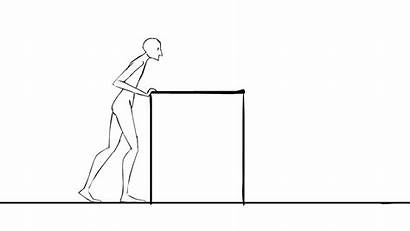 Pushing Box Agenda Push Animation Mesa Table