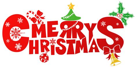 Merry Christmas Clipart  Happy Holidays