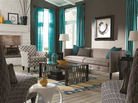 Epic Brown And Turquoise Living Room Ideas