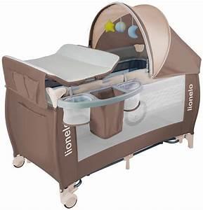 Kinderbett Für Baby : lionelo sven plus baby reisebett mit wickeltisch braun ~ Watch28wear.com Haus und Dekorationen