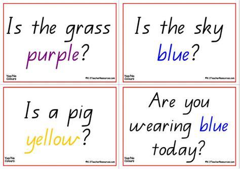colours questions