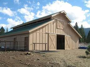 Wood Pole Barn Pdf Woodworking Aesthetic Yet Fully Functional Pole Barn Designs