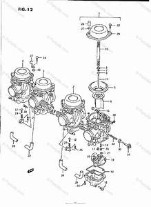 Suzuki Motorcycle 1990 Oem Parts Diagram For Carburetor
