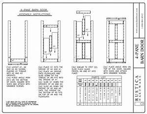 Barn Door Hardware Installation Help