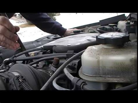 2001 Cadillac Overheating by Starter Removal And Replacement On A Northstar Engine Doovi