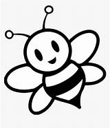 Bee Clipart Honey Pages Colouring Hd Kindpng sketch template